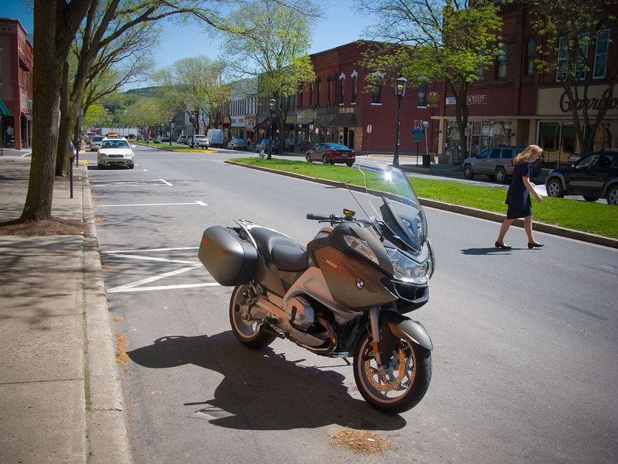 BMW R1200 RT motorcycle in Wellsboro, Pennsylvania