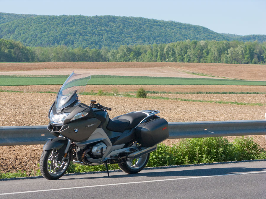 BMW R1200 RT motorcycle
