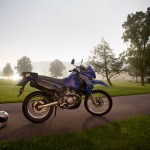 2009 Kawasaki KLR 650: Night Stop