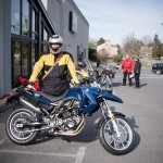 Taking Home a BMW F 650 GS