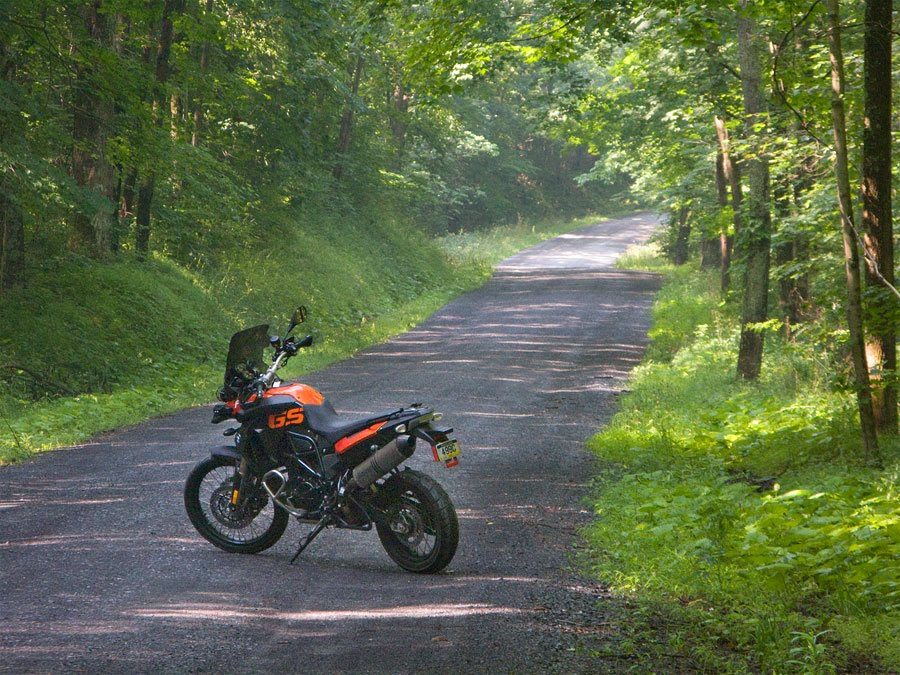 BMW F800 GS motorcycle