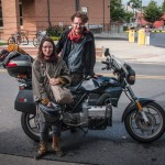 Adventures on a BMW K75 Motorcycle