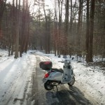 More Reasons to Not Ride a Vespa in the Winter