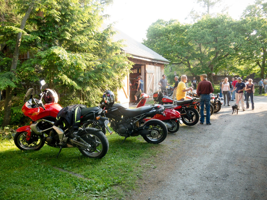 Motorcycles at the Moto Hang