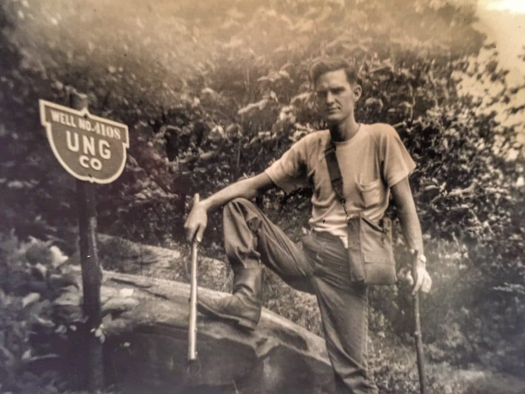 James D. Williams hunting snakes