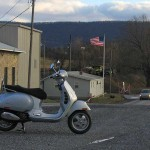Wind and the Vespa GTS250ie