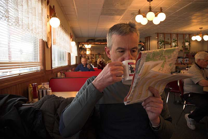 Paul Ruby at Miller Diner