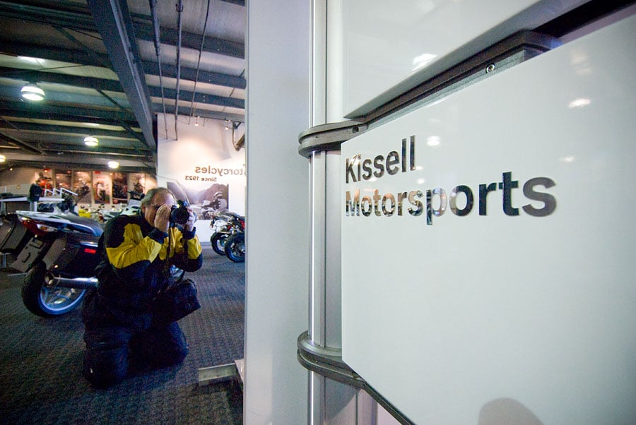 Kissell Motorsports sign