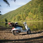 A Mini Adventure — Camping with a Vespa