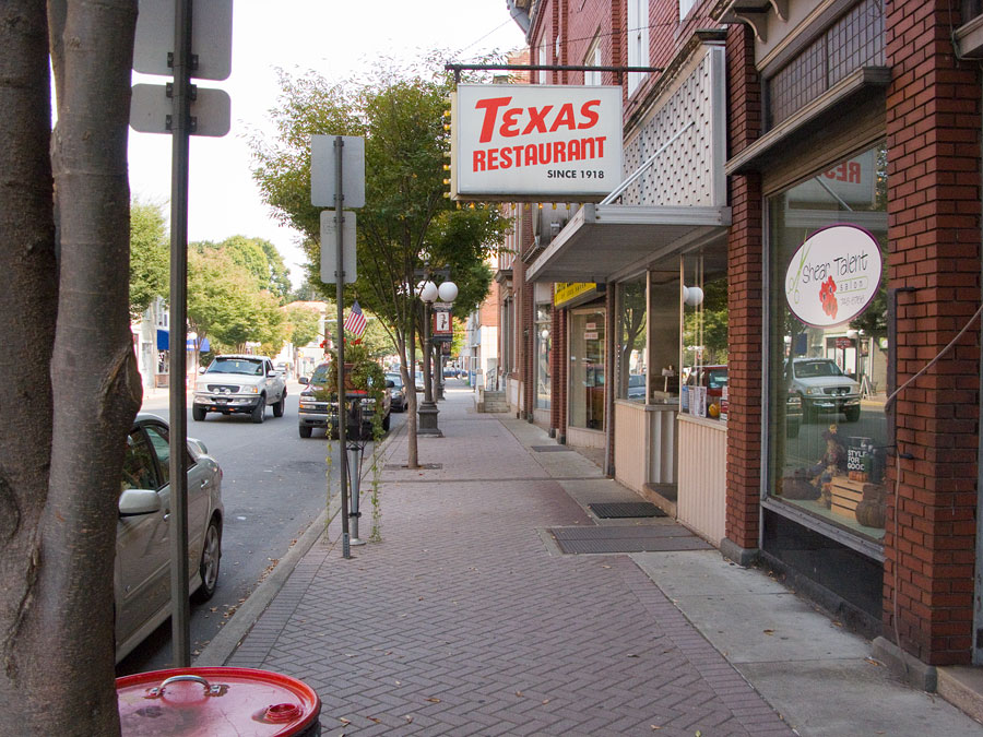 Texas Restaurant in Lock Haven, Pennsylvania