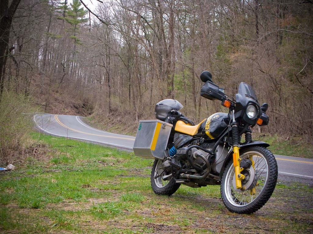 1988 BMW R100 GS motorcycle