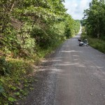 Vespa and the Long Gravel Road