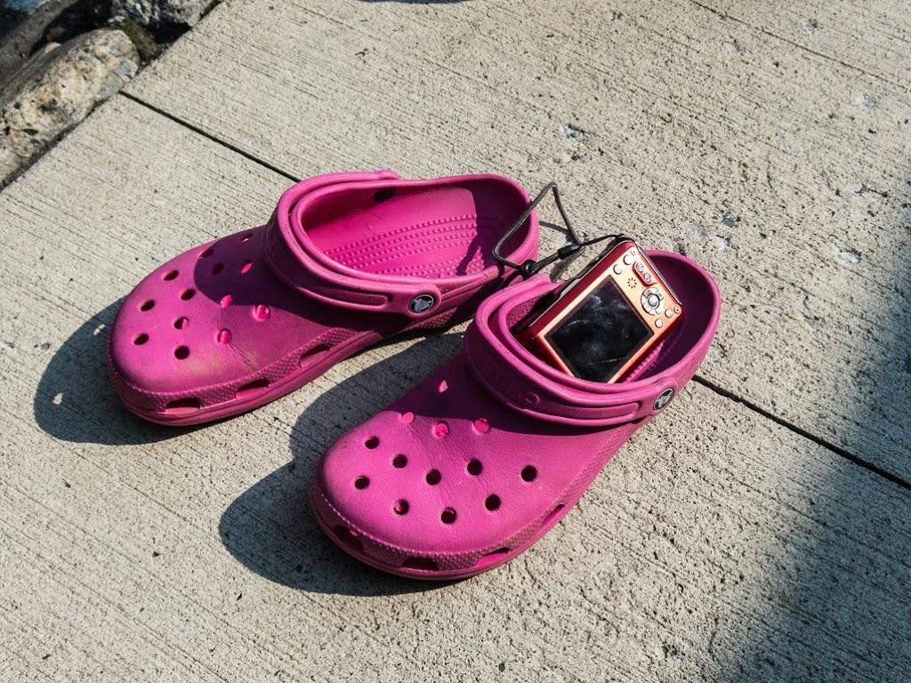 Bob Leong's crocs