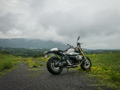 BMW RnineT motorcycle