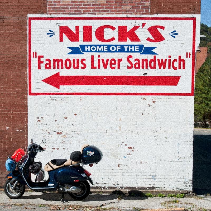 Nick's diner in Virginia
