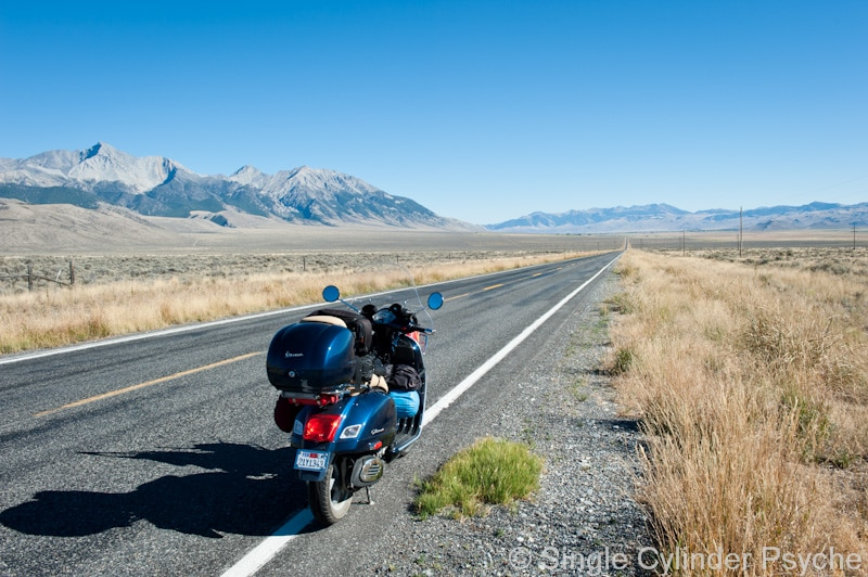 Vespa GTS 300 scooter in Idaho