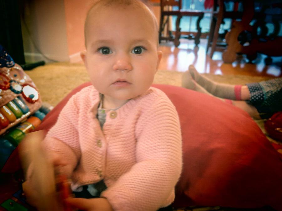 Infant graddaughter