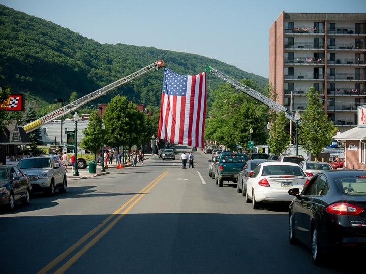 Memorial Day in Tyrone, Pennsylvania