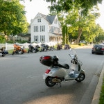 Encountering Harley Davidson Motorcycles