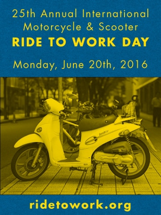 Ride to Work poster 2016