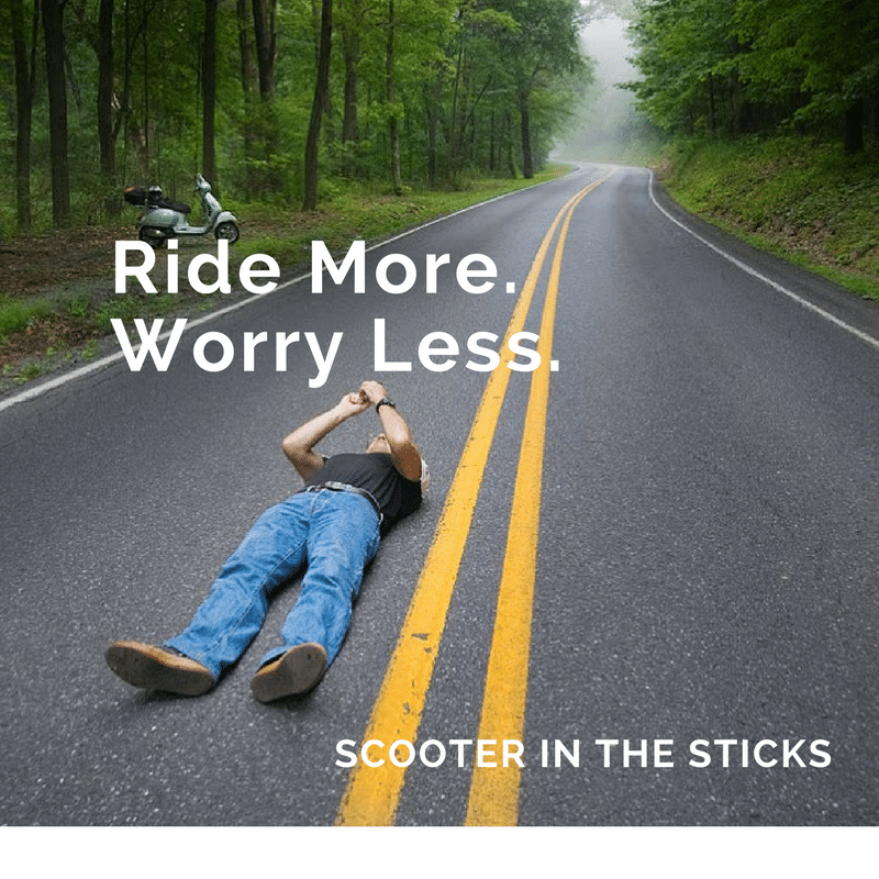 Ride More, Worry Less graphic