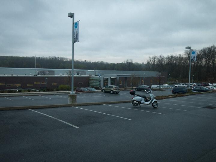 Vespa GTS at Geisinger Medical Center -- Grays Woods