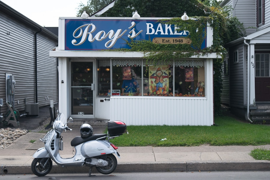 Roy's Bakery in Williamsport, Pennsylvania
