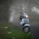 Vespa in Fog
