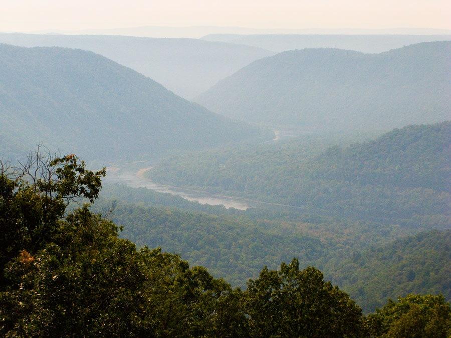 Hyner View overlook