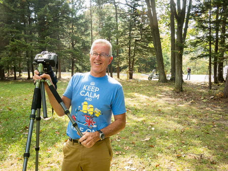 Paul Ruby in Moshannon State Forest