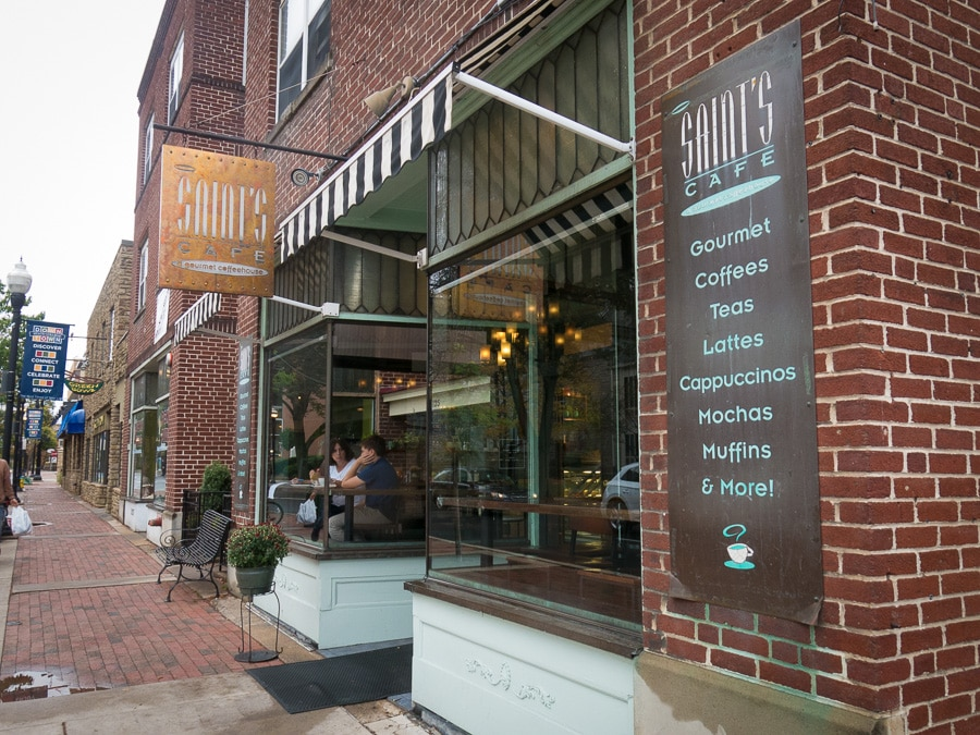 Saint's Cafe in State College, Pennsylvania