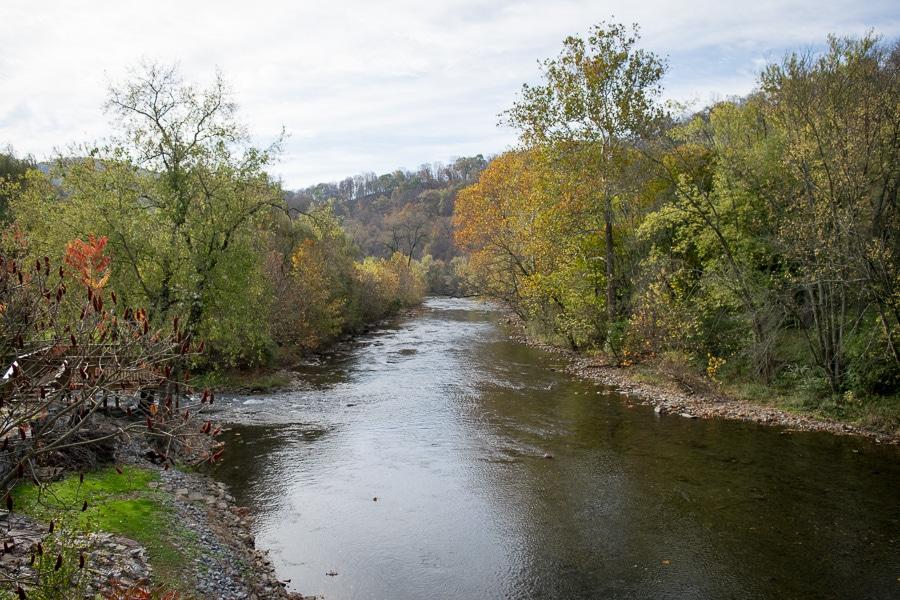 Juniata River at Spruce Creek, Pennsylvania