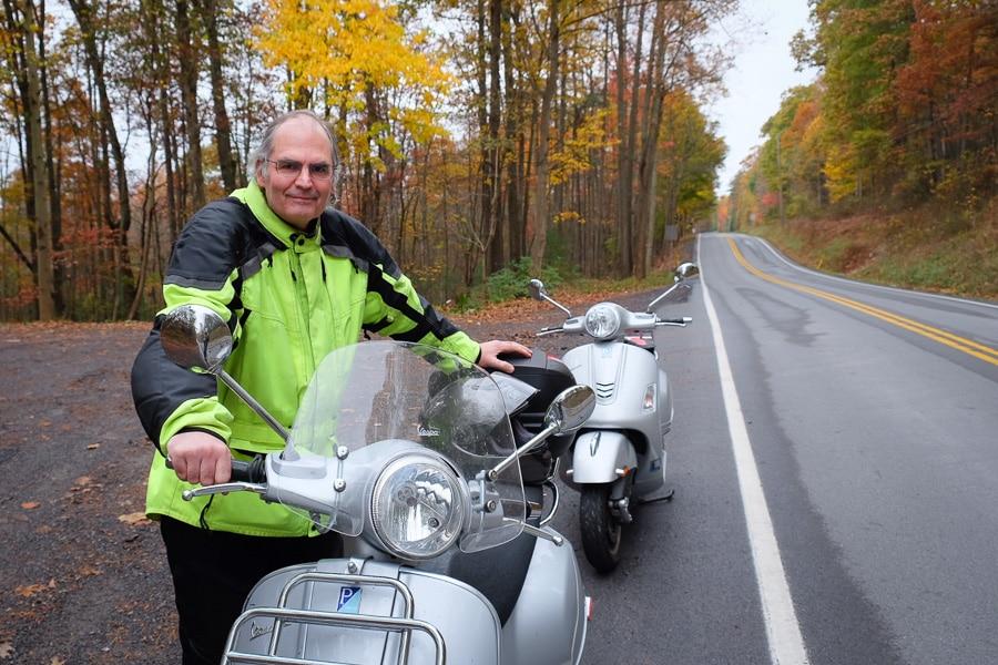 Steve Williams, Vespa rider