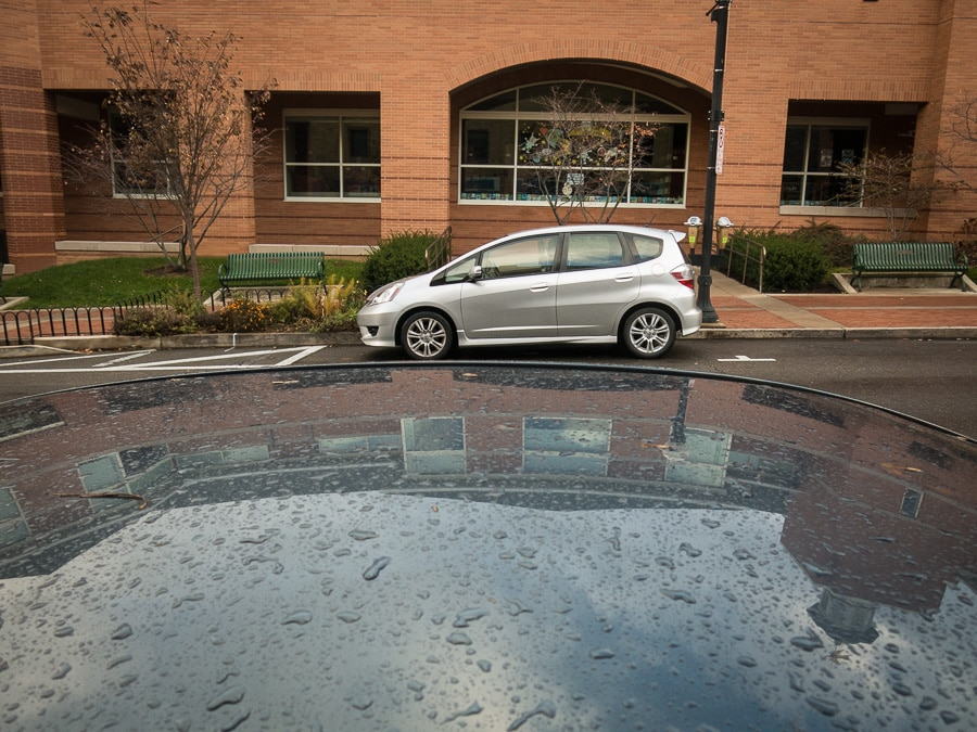 Honda Fit at Schlow Library