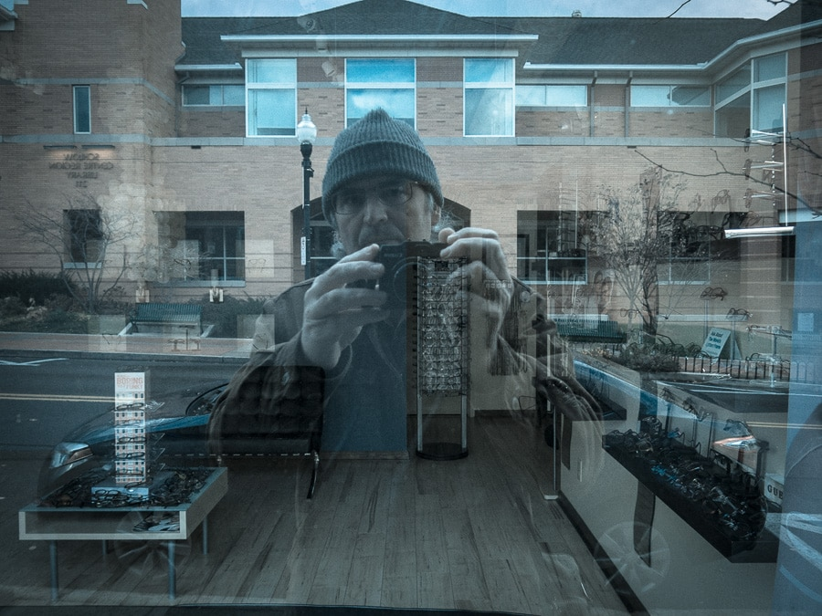 Steve Williams self-portrait