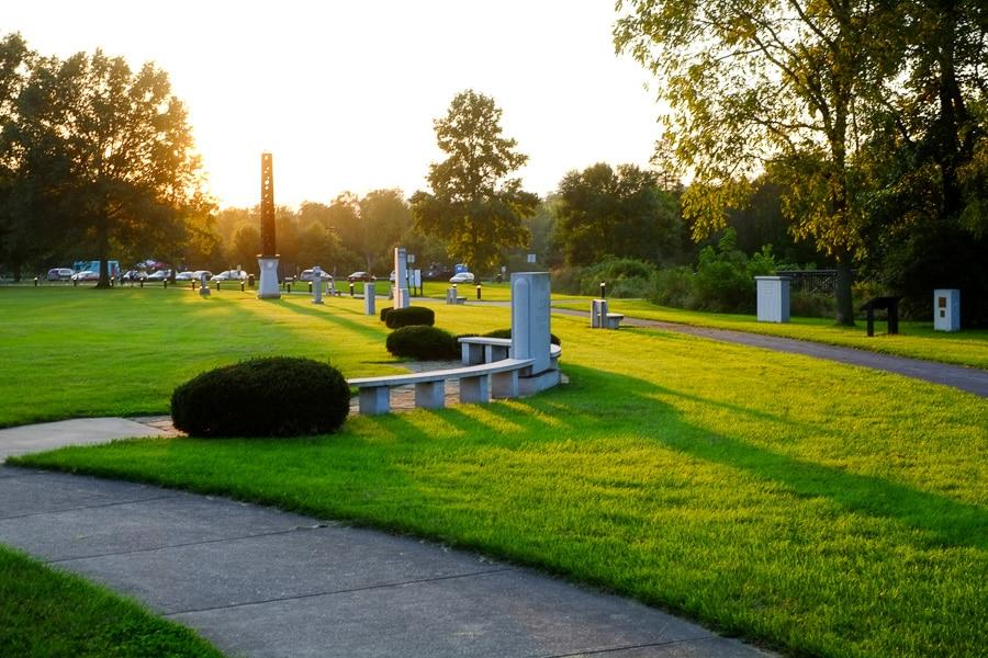 Sunset in Pennsylvania Military Museum