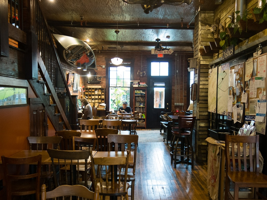 Inglebean Coffee House in Millheim, Pennsylvania